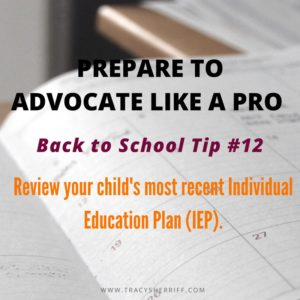 Back to School Tip 12