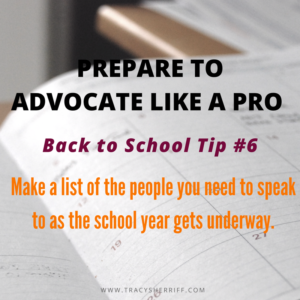 Back to School Tip 6